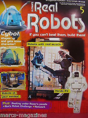 Ultimate Real Robots Modelling Magazine Build Your Own Robot Cybot # 5