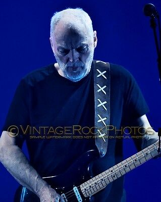 David Gilmour Photo 8x10 inch 2016 Concert Tour Ltd Edition Art Design Print 189