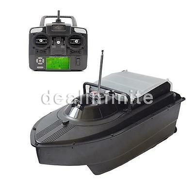 JABO 2CG-10A High Speed 300M RC Bait Boat Fish Finder Night LED Sonar Detect wr