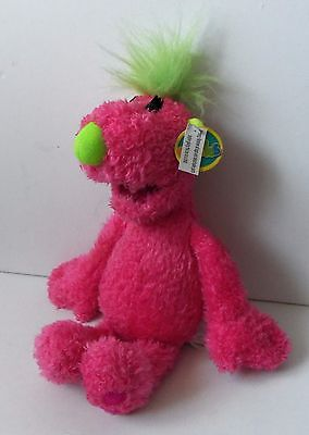 Jim Henson's The Hoobs Pink Tula Plush Soft Toy Nanco PMS Figure With Tag