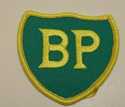 """BP Gasoline Patch Embroidered Oil 2-1/2"""" inches  Vintage Iron on"""