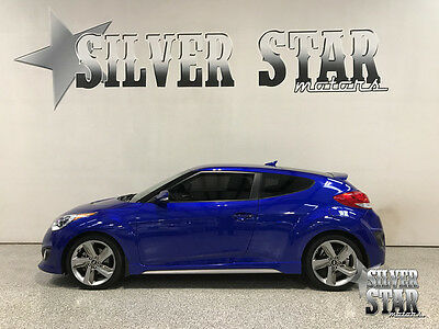 2013 Hyundai Veloster Turbo Hatchback 3-Door 2013 Veloster Turbo 3DR Coupe Sport Loaded Leather GasSaver Xnice Texas!