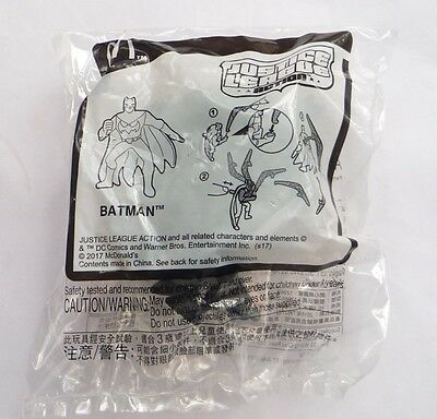 McDONALDS Justice League Action BATMAN Meal Toy Kids MINT 2017 Malaysia