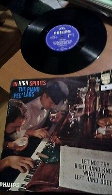"""Rare!!!! The Piano Ped'lars - In High Spirits 12"""" Lp"""