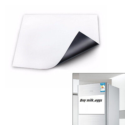 Flexible Size A3 Magnetic Whiteboard Fridge Kitchen Reminder Magnet White Boards