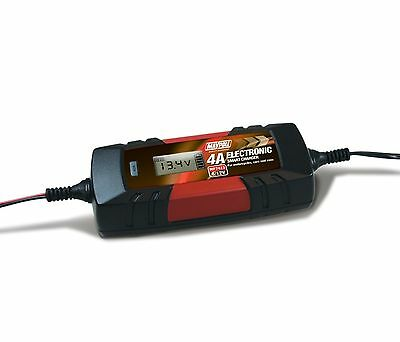 Electronic Battery Charger 4 Amp for Motorcycles, Cars and Vans MP7423