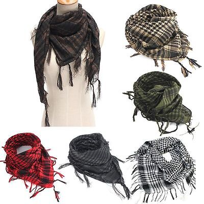 Multy Use Army Military Desert Tactical Arab Shemagh KeffIyeh Shawl Scarf Wrap