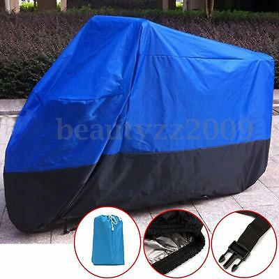 XL Waterproof Outdoor Motorcycle Motorbike Cruiser Scooter Motor Bike Cover