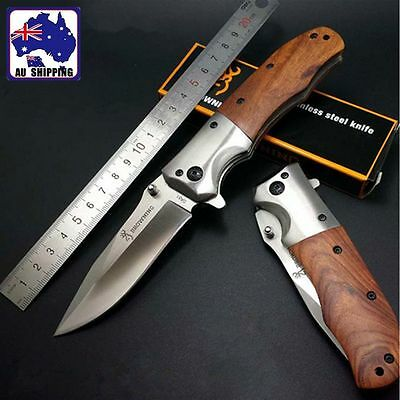 Camping Knife Outdoor Hiking Tool Pocket Folding Knives Not Edged OKNI47501