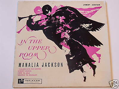 Mahalia Jackson In the Upper Room No 2 EP Mono Top Rank