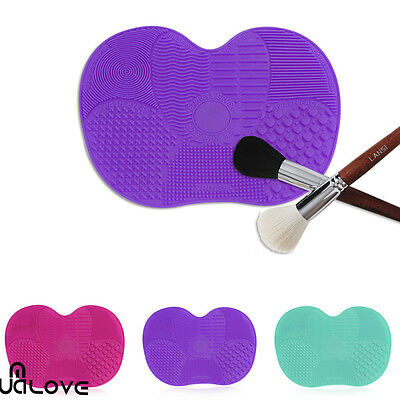 Silicone Makeup Brush Cleaner Pad Cosmetic Washing Scrubber Board Mat Tool