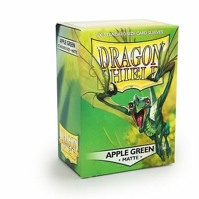 Dragon Shield Sleeves Standard (100) - Matte Apple Green #dragonshield