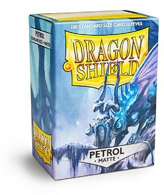 Dragon Shield Sleeves Standard (100) - Matte Petrol #dragonshield