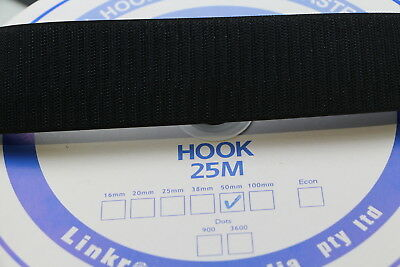 Hook and Loop HOOK SIDE 25mts 25mm Sewing Horse rugs, bags, tents, canvas,cars