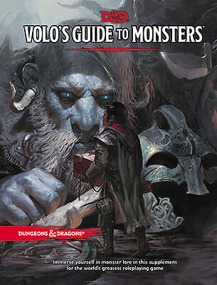 Dungeons & Dragons Volo's Guide To Monsters Book 5Th Edition Rpg