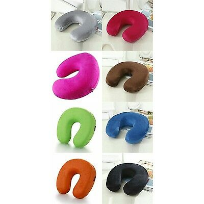 New Cushion Neck Memory Foam U-Shape Car Headrest Flight Soft Travel Pillow
