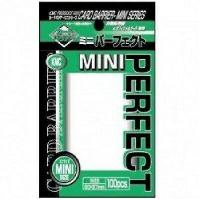Kmc Perfect Size Card Barrier Series - Mini Size (100) Yugioh, Cardfight Etc