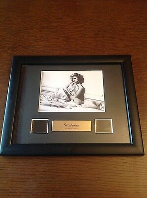 Rare Madonna Film Cell - In Bed With Madonna Memorabilia Framed Gifts