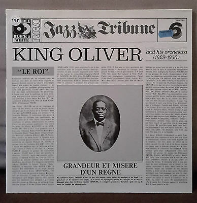 Jazz Tribune No.6 - King Oliver And His Orchestra (1929-1930) - 2LP´s - NL89770
