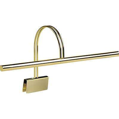 Clip-on Brass Piano Lamp