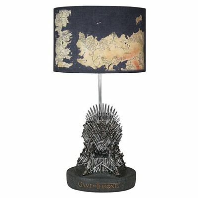 Game of Thrones Iron Throne 2nd Edition Table Lamp UK SELLER Damaged Packaging