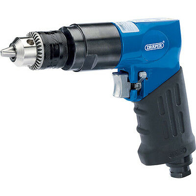 Draper Reversible Air Drill Gun with 10mm Geared Chuck