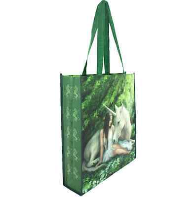 Anne Stokes Pure Heart Large Designer Tote Shopping Bag
