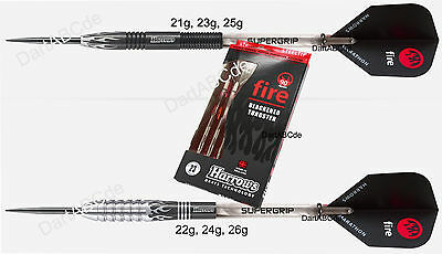 HARROWS Fire Steel Dart Black Edition 90% Tungsten 21,22,23,24,25 und 26g