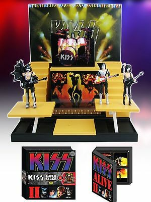 KISS Alive II Stage Deluxe Box Set #1 -Limited Edition Convention Exclusive
