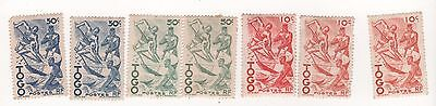 1947 TOGO French Colony West Africa  stamps  -  mint MH