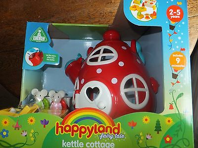 ELC - HappyLand Kettle Cottage - Children's Playset - Suitable Ages 2-5 Years