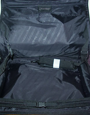 "Travel Pro Wall Street 15"" Laptop Notebook padded Case Bag Black"