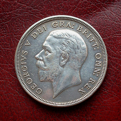 George V 1932 wreath silver crown