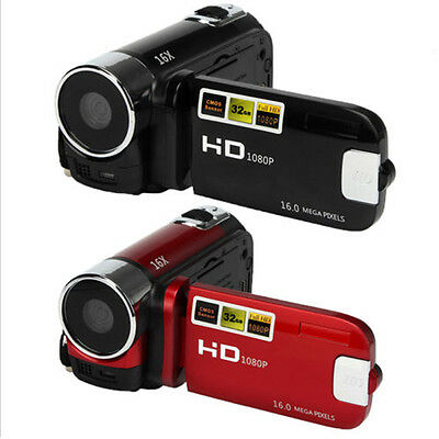 Pro Full HD 1080P 16M 16X Digital Zoom Video Recorder Camcorder DV Camera Cam US
