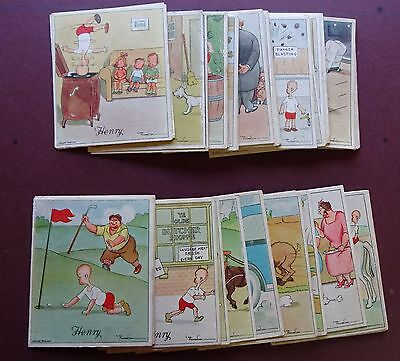 Approx 50 Henry Cards ,all 1St Series, Issued 1935 By Wix