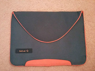Tech Air grey/orange case/sleeve for laptop, notebook, macbook
