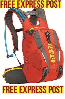 Brand NEW CamelBak Skyline 10 LR Hydration Pack Mountain Bike EXPRESS POST RED