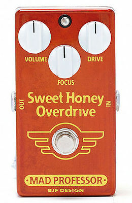 Mad Professor Sweet Honey Overdrive Effects Pedal PCB Model