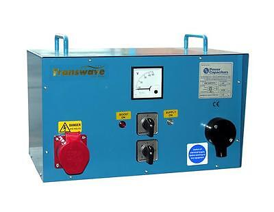 TRANSWAVE Static Converter 5.5hp/4kW HT - Ideal for Car Ramps and Compressors
