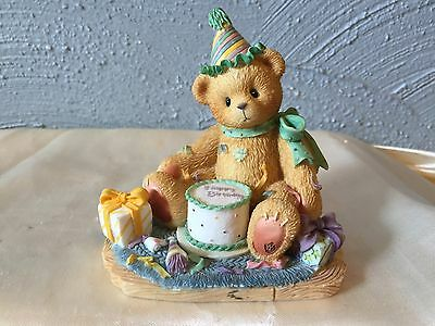 You're The Frosting On The Birthday Cake Cherished Teddies Figurine ~ No Box