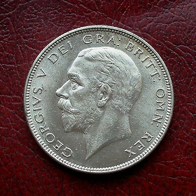 George V 1936 silver halfcrown
