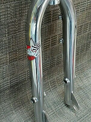 "redline rl 20b old bmx chrome 20"" fork freestyle bike pro styler cw hutch haro"