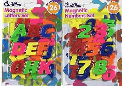 Kids Learning Teaching Magnetic Toy Letters & Numbers Fridge Magnets Alphabet 26