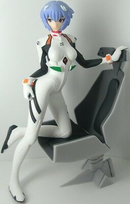 Evangelion Rei Ayanami Plugsuit Girl with Chair Figure Sega Prize seat of soul
