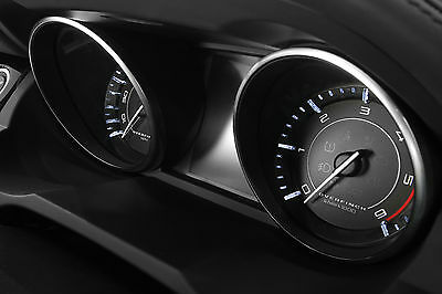 Overfinch Evoque GTS Dial Instrument Pack - Black with White Detailing