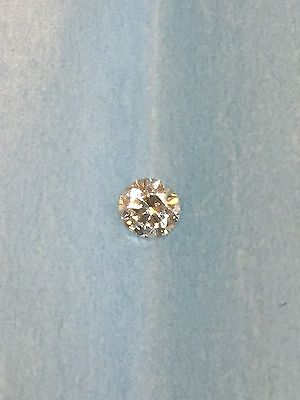 Loose Natural 0.19ct Round Brilliant Cut Diamond G SI1