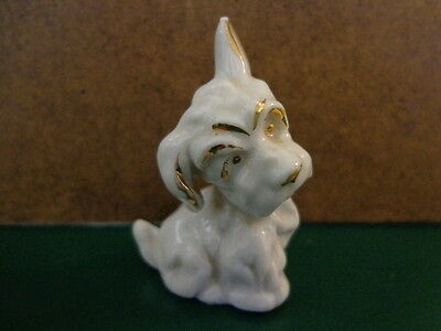 WEST HIGHLAND TERRIER dog Figurine Marked GERMANY Pre-WWII FREE SHIP!