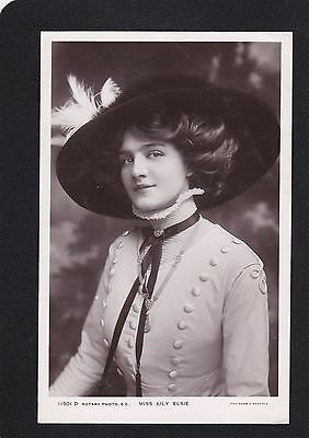 Postcard - Actress - Lily Elsie - Rotary Photo 11501 D - Very Good Unposted