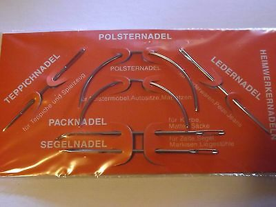 6 Repair Needles from Germany  Free post