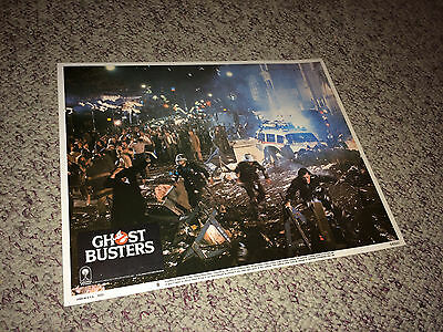 GHOSTBUSTERS 1984 Movie Lobby Card Poster Bill Murray Panic! Sci-Fi Action #8
